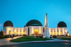 Obervatório de Griffith em Los Angeles fotos de stock royalty free