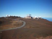 Obervatório de Haleakala Fotos de Stock Royalty Free