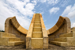Obervatório de Jantar Mantar Fotografia de Stock