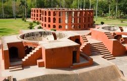 Obervatório de Jantar Mantar Foto de Stock
