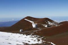 Obervatório de Mauna Kea Imagens de Stock