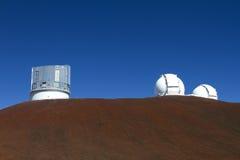 Obervatório de Mauna Kea Foto de Stock Royalty Free