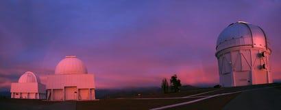 Obervatório Inter-American de Cerro Tololo Foto de Stock