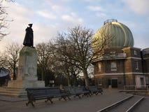 Obervatório real de Greenwich Foto de Stock Royalty Free