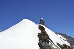 Obervatório suíço do jungfrau Foto de Stock