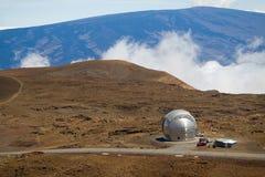 Obervatório Submillimeter de Caltech Foto de Stock Royalty Free