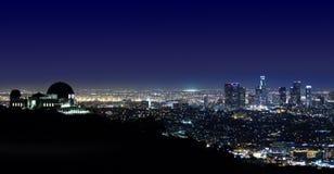 Obervatório Los Angeles de Los Angeles Griffith, CA Fotografia de Stock