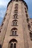 Obervatório redondo de Copenhaga Dinamarca da torre Imagens de Stock Royalty Free