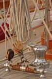Oberwerk des Bootes Stockfoto
