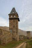 Oberwesel,德国防御塔  免版税库存照片