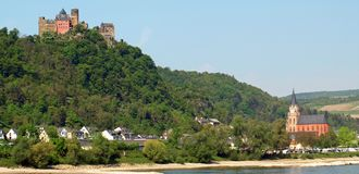 Oberwesel Royalty Free Stock Images