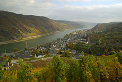Oberwesel Royalty Free Stock Photos