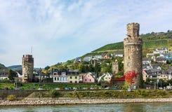 Oberwesel, Alemanha Imagens de Stock
