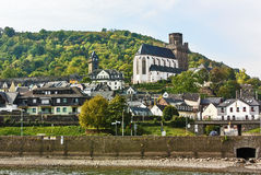 Rhine Valley, Germane Royalty Free Stock Photos