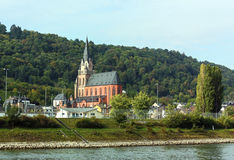 Rhine Valley, Germane Royalty Free Stock Images