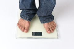 Obese man Royalty Free Stock Photography