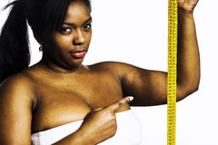 Obese woman Royalty Free Stock Images
