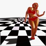 Obesidade, excesso de peso Foto de Stock
