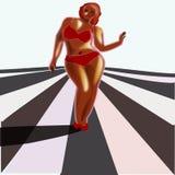 Obesidade, excesso de peso Imagens de Stock Royalty Free