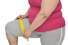 Obesità Fotografia Stock Libera da Diritti