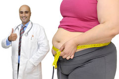 Obesity Royalty Free Stock Photography
