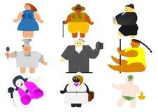 obesity Imagem de Stock Royalty Free