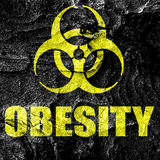 Obesity concept background stock illustration