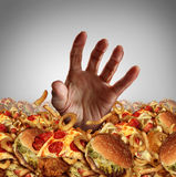 Obesity Concept Royalty Free Stock Image