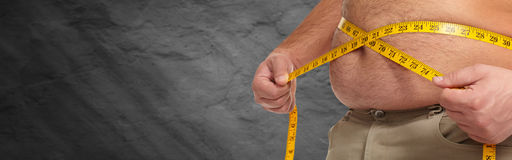 Obesity. Royalty Free Stock Images
