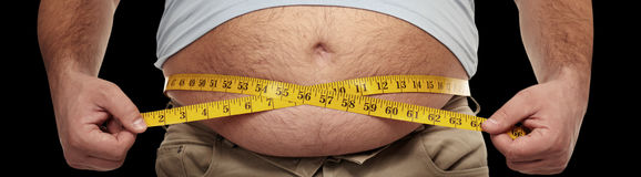 Obesity royalty free stock photo