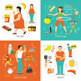 Obesity And Health Concept Stock Photo