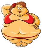 Obeso illustrazione di stock