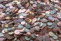 Obetydlig valuta royaltyfri fotografi