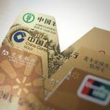 obezwładnia kredytową kartę Obrazy Stock