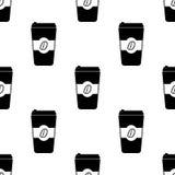 obfitość kawowa ikona Element Zła habbits ikona dla mobilnych pojęcia i sieci apps Deseniowej powtórki bezszwowa obfitość kawowa  ilustracja wektor