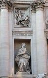 Obfitości rzeźba, szczegół Trevi fontanna Obrazy Royalty Free
