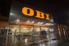 OBI trade center Stock Photos