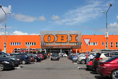 The OBI trade center in Khimki city, Moscow Region Stock Photography