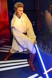 Obi Wan Kenobi - Madame Tussauds London Stock Photos