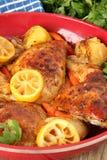 obiad chicken Obrazy Stock