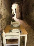 obiad dwa zdjęcia royalty free