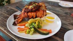obiad homara Zdjęcie Stock