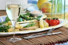 obiad leszcza morza Zdjęcia Royalty Free