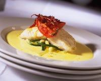 obiad ryby Obraz Royalty Free