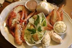 obiad ryby zdjęcie stock