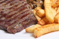 obiad stek Obraz Stock