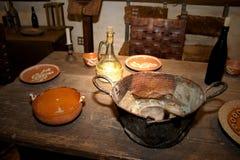 obiad zestaw Zdjęcie Stock