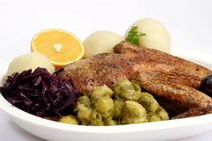 obiadowa kaczka Fotografia Stock