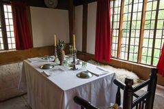 Obiadowego stołu set Zdjęcie Royalty Free