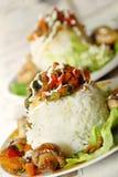 obiadowi ryż Zdjęcia Royalty Free